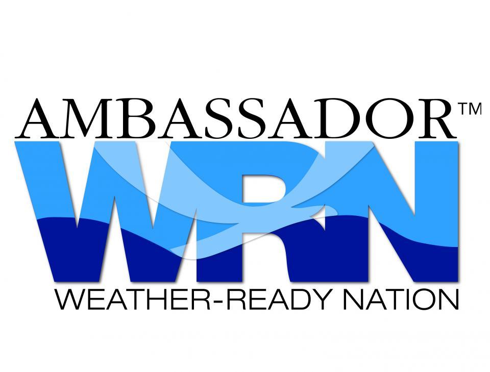 Ambassador Weather-Ready Nation (WRN) Logo