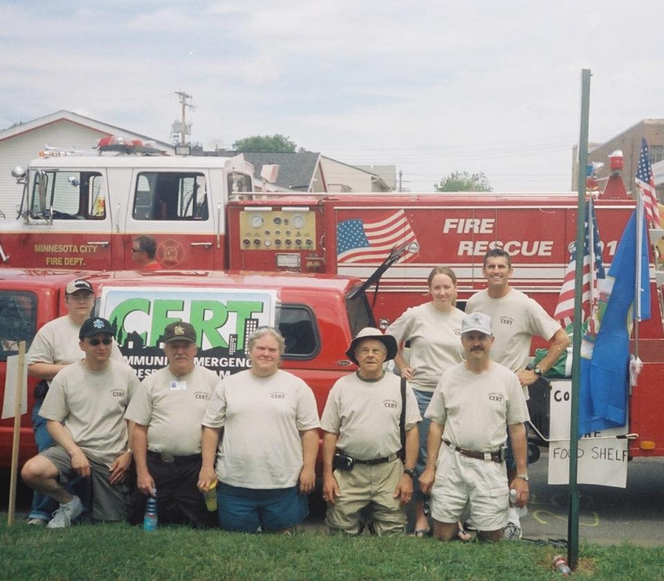 CERT Team on Steamboat Days 2006