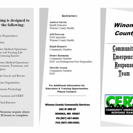CERT Training Brochure