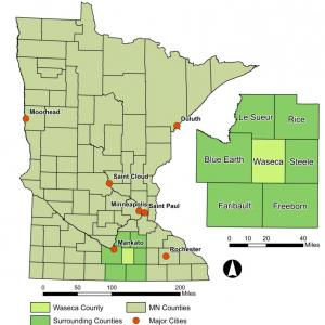 County Location map