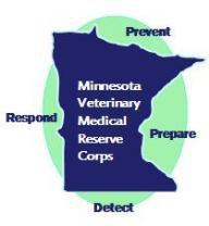 Minnesota Veterianary Medical Reserve Corps Logo